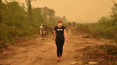 'Nowhere to go, nowhere to hide': The horror of Indonesia's haze