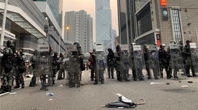 Hong Kong protests business impact Britt Clennett 4