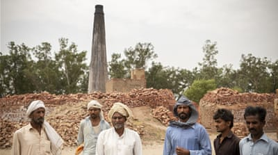 The spiralling debt trapping Pakistan's brick kiln workers