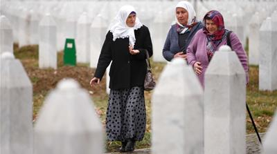 The memory of Srebrenica is fading away