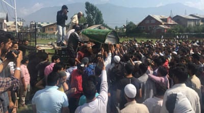 Kashmiri teenager dies of pellet, tear gas shell wounds