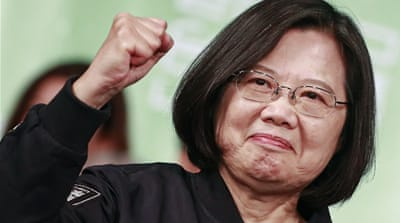 Tsai faces choppy China waters after Taiwan election landslide