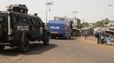 'Two killed' in Guinea during anti-government protests