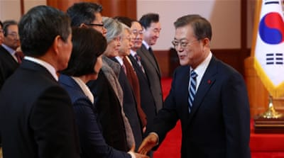 North Korea 'remains open to talks' with US: South Korea's Moon