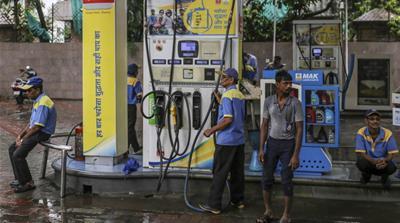 Indian fuel pump