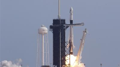 SpaceX test succeeds; now plans to launch two astronauts to space