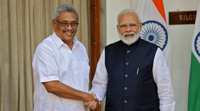India moves to seek closer military ties with Sri Lanka