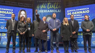 Emilia-Romagna: Will Italy's left-wing stronghold turn far-right?