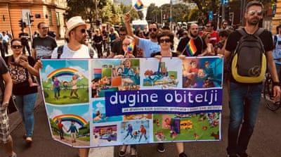 Croatia's same-sex couples campaign for child fostering rights