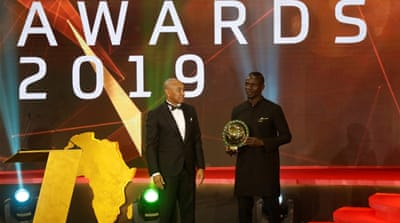 Sadio Mane has been named the 2019 African Player of the Year