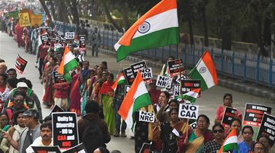 India's BJP slammed for 'offensive' tweet on anti-CAA protesters