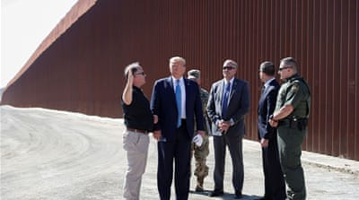 Trump administration taking $3.8bn from military for border wall