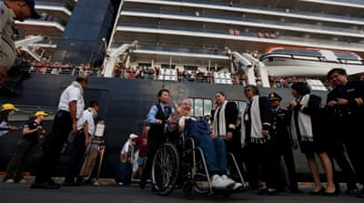 Nightmare holiday: Virus runs cruise passengers' plans aground