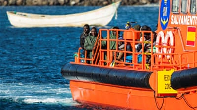 Dozens of migrants missing off Canary Isles