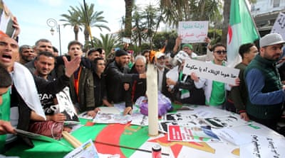 Algeria's opposition movement marks first anniversary