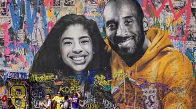 Los Angeles honours Kobe Bryant and daughter in public memorial