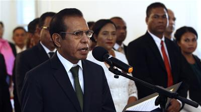 East Timor PM Taur Matan Ruak resigns as coalition collapses
