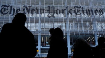 Trump campaign sues New York Times over Russia opinion article