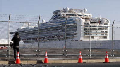 Filipino crew leave Diamond Princess; others remain on board