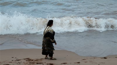 'Our feet grow into the ground': The Ojibwe women owning the shore