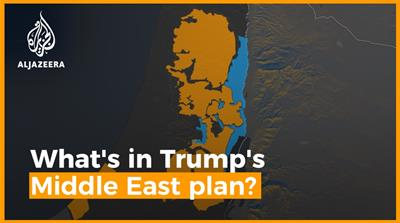 What is in Trump's Middle East plan
