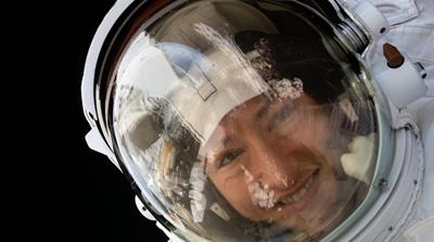 Record-breaking astronaut Christina Koch set to return to Earth