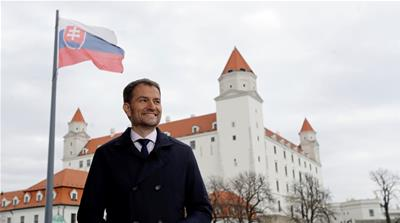 Slovak election hands democrats vital test