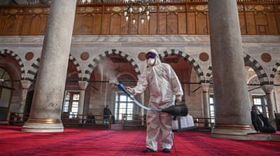 Prayers restricted across Middle East amid coronavirus fears