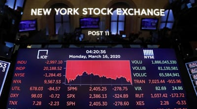 The market crash: Is the virus to blame? Or delusional economics?