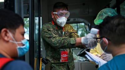 Coronavirus: Philippines seeks 215 who attended Malaysia event