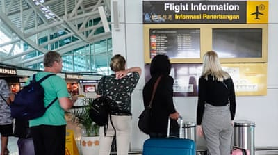 Coronavirus shutdowns leave travellers stuck in airport terminals