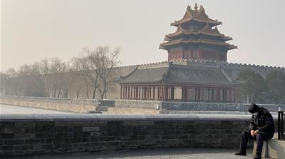 Virus Lockdown in Beijing