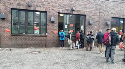 COVID-19 lockdown hits Berlin's unemployed, homeless and refugees