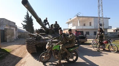 Saraqeb situation fluid as Syrian gov't, rebel groups fight on