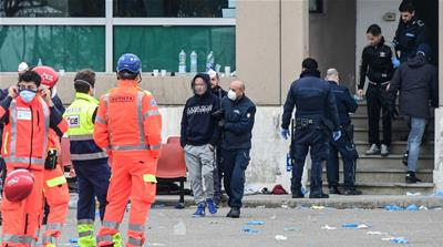 Six inmates die as prison riots over coronavirus rules grip Italy