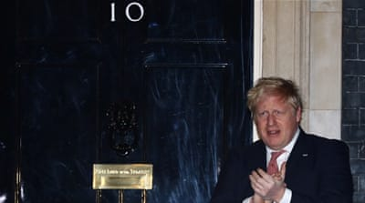 Boris Johnson: The hollow priest of the NHS