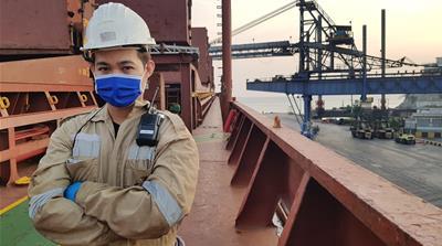 Carrier docks at Santa Maria  (Seafareres)