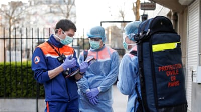 Italy, France record lower coronavirus deaths: Live updates