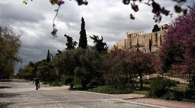 Athens empty - reuters