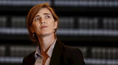 Samantha Power: 'US is pulling away from its democratic allies'