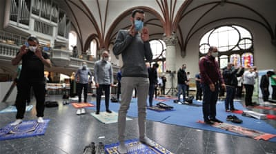 Berlin church hosts Muslim prayer in 'amazing sign of solidarity'