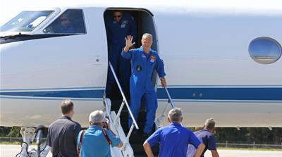 NASA astronauts Bob Behnken and Doug Hurley
