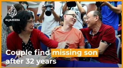 Couple reunited with missing son after 32-year search  [Daylife]