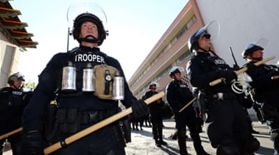 Does the militarisation of US police encourage excessive force?
