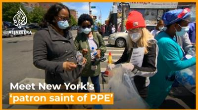 Meet New York's 'patron saint of PPE'  [Daylife]