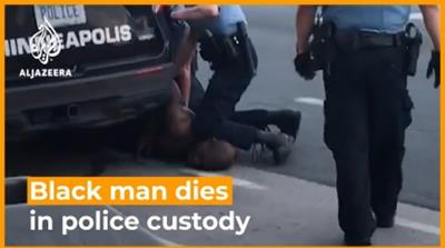 'I can't breathe': Black man dies in police custody in the United States [Daylife]