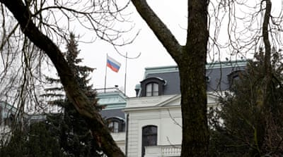 Czech Republic expels two Russian diplomats over poison plot hoax
