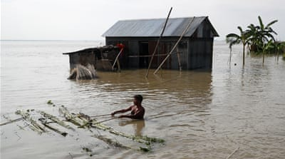 In Pictures: Monsoon floods wreak havoc in South Asia