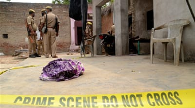 Indian police officers killed in ambush by criminal gang