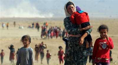 Yazidi children 'left alone' to deal with ISIL captivity trauma